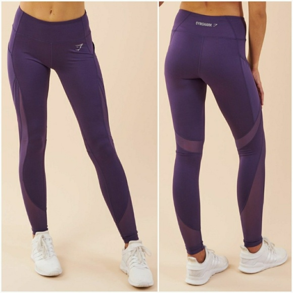 59406fd83db6a Gymshark Pants | Nwt Sleek Sculpture Rich Purple Leggings | Poshmark